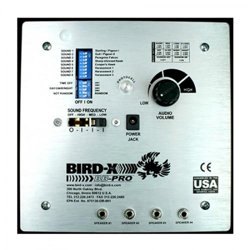 Dźwiękowo-ultradźwiękowy odstraszacz ptaków