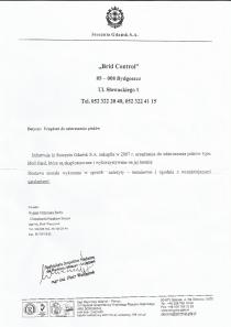 Referencje od Stołeczna Gdańsk