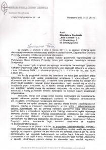 Referencje od Generalna Dyrekcja Ochrony Środowiska