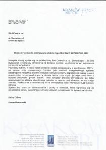 Referencje od porty lotnicze Kraków