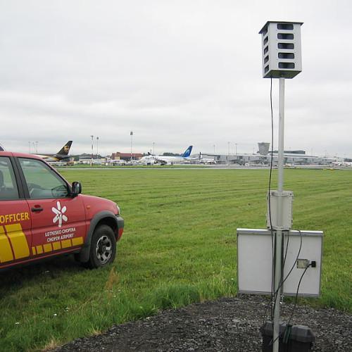 Bird Gard SUPER PRO AMP na lotnisku